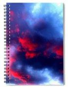 Stormy Monday Blues Spiral Notebook