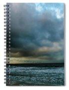 Stormy Monday Spiral Notebook