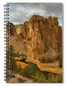 Stormy Over Smith Rock Spiral Notebook
