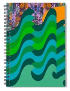 Stormy Sea Spiral Notebook
