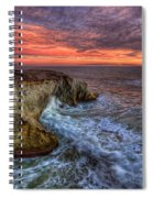 Stormy Seas Spiral Notebook