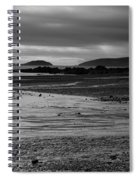 Stormy Skies At Seaton Sands Spiral Notebook