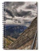 Stormy Skies On Moro Rock Spiral Notebook