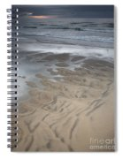 Stormy Skies Over The North Sea Spiral Notebook