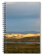 Stormy Sky With Rays Of Sunshine Spiral Notebook
