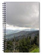 Stormy Smoky Mountains Spiral Notebook