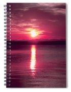 Stormy Sunrise Spiral Notebook