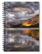 Stormy Sunset At Tenaya Spiral Notebook