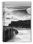 Stormy Surf Spiral Notebook