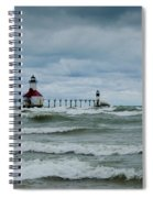 Stormy Waters Spiral Notebook