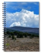 Stormy Wyoming Fall Spiral Notebook