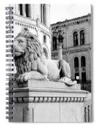 Stortinget Parliament Building Oslo Norway Spiral Notebook