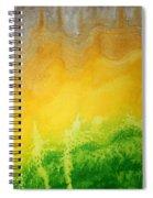Stormy Mesa Original Painting Spiral Notebook