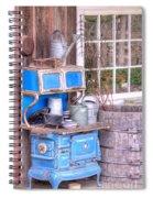 Stove  Appliance Cooker  Kitchen  Antique Spiral Notebook