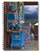 Stove - Appliance - Cooker - Kitchen  Spiral Notebook