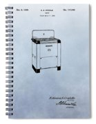 Stove Patent Spiral Notebook
