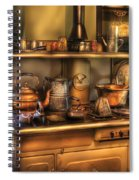 Stove - What's For Dinner Spiral Notebook
