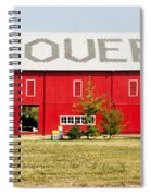 Stovers Farm Market Berrien Springs Michigan Usa Spiral Notebook