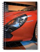 Stradale By Zagato Spiral Notebook