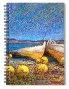 Stranded - Bar Road Spiral Notebook