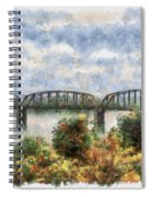 Strang Bridge Spiral Notebook