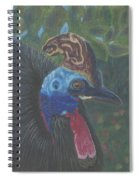 Strange Birds Spiral Notebook