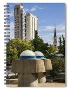 Strange Buenos Aires Architecture Spiral Notebook