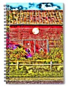 Strange Day At The Barn Spiral Notebook