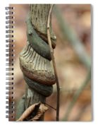 Strangled By Nature Spiral Notebook