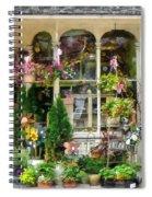 Strasburg Flower Shop Spiral Notebook