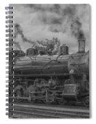 Strasburg Rail 475 In Hdr Spiral Notebook