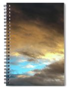 Stratus Clouds At Sunset Bring Serenity Spiral Notebook