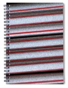 Straw Red Spiral Notebook