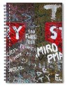 Strawberry Fields Forever Spiral Notebook