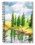Strawberry Reservoir 2 Spiral Notebook