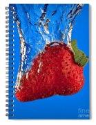 Strawberry Slam Dunk Spiral Notebook