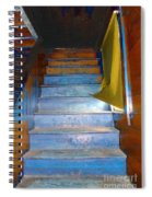 Stray Breeze On The Stairs Spiral Notebook