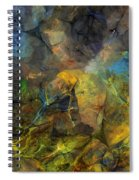 Stream Bed On A Sunny Day Spiral Notebook
