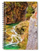 Stream In The Mountains Spiral Notebook