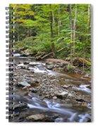 Stream Of Serenity Spiral Notebook