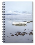 Stream Of Stillness Spiral Notebook