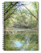 Stream Of Water Spiral Notebook