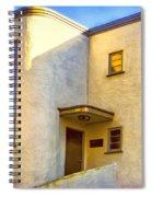 Streamline Moderne 2 Spiral Notebook