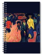 Street - Dresden Spiral Notebook