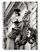 Street Art Roman Style By Zina Zinchik Spiral Notebook