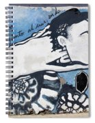 Street Art Santiago Chile Spiral Notebook