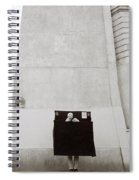 Paris Surrealism Spiral Notebook