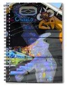 Street Art Valparaiso Chile 5 Spiral Notebook