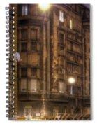 Street Corner Budapest Spiral Notebook