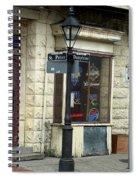 Street Corner In New Orleans Spiral Notebook